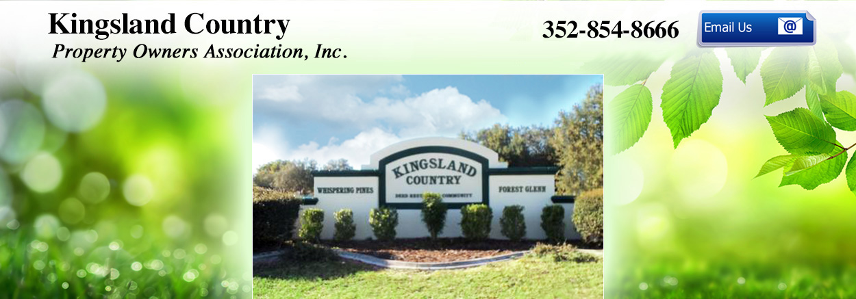 Kingsland Country Property Owners Association, Inc.